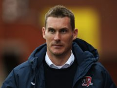 Exeter manager Matt Taylor was unhappy with his side's FA Cup display against Sheffield Wednesday (Mark Kerton/PA)