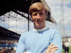 Colin Bell is regarded as one of Manchester City's greatest ever players (PA).