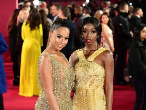 Amber Gill and Yewande Biala (Ian West/PA)