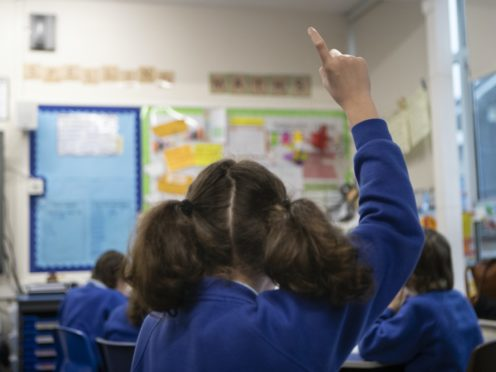 Schools in Scotland will be closed to most pupils until at least February 1 (Danny Lawson/PA)