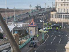 Three men 'deliberately' hit by BMW in fatal crash by Brighton Pier, court hears (@HLOBlog)