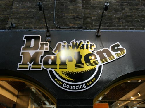 Dr Martens' private equity owner plans to sell some of its stake in the stock market float (Tim Ireland/PA)