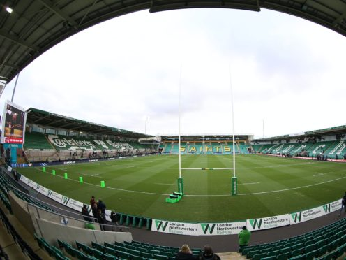 Saturday's match between Northampton and Leicester at Franklin's Gardens has been called off (Nigel French/PA)