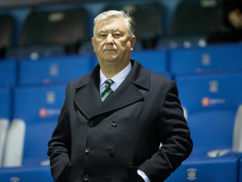 Peter Lawwell will step down from his post at the end of the season (Jeff Holmes/PA)