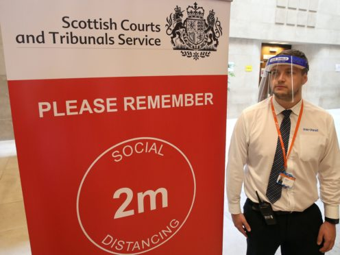 Lawyers have said that current coronavirus measures in court buildings are not enough (Andrew Milligan/PA)