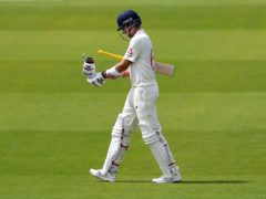 Joe Root was one of three quick England wickets (Martin Rickett/PA)