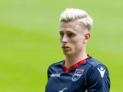 Oli Shaw netted a brace for Ross County (Jeff Holmes/PA)