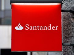Santander is slashing the interest rate on its flagship 123 current account to a tenth of what it once was (John Stillwell/PA)
