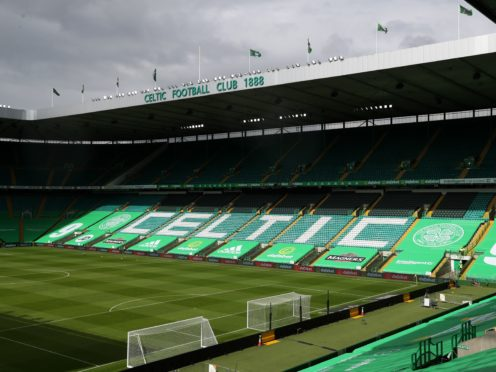 Celtic have confirmed that one of their players has tested positive for Covid-19 after the club returned from a controversial training camp in Dubai (Andrew Milligan/PA)