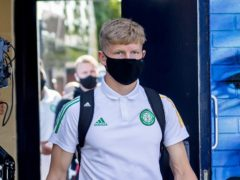 Scott Robertson is in Celtic's squad (Kenny Ramsay/PA)