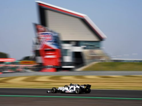 Silverstone will host the British Grand Prix on July 19 (Rudy Carezzevoli/PA)