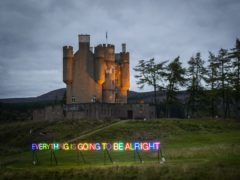Braemar Castle is among the sites to benefit from the funding (Jane Barlow/PA)