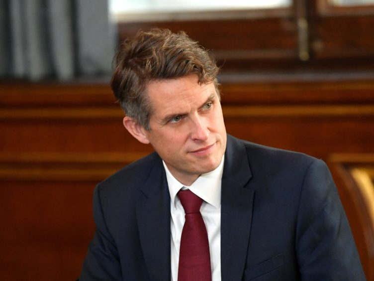Education Secretary Gavin Williamson (Toby Melville/PA)