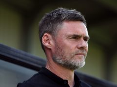 Motherwell were pegged back in Graham Alexander's first game in charge (Martin Rickett/PA)