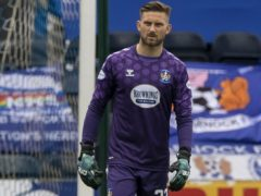 Kilmarnock goalkeeper Danny Rogers conceded an own goal against St Mirren (Jef Holmes/PA)