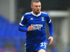 Freddie Sears is among a handful of players expected to return for Ipswich (Adam Davy/PA)