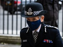 Metropolitan Police Commissioner Dame Cressida Dick (Aaron Chown/PA)