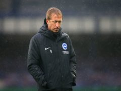 Brighton manager Graham Potter feels football must keep everything in perspective during the coronavirus pandemic (Alex Livesey/PA)