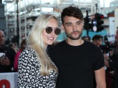 The Wanted star Tom Parker has received his first dose of the Covid-19 vaccination (Yui Mok/PA)