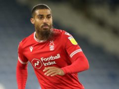 Lewis Grabban netted the winner for Forest (Nick Potts/PA)