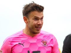 Blackpool goalkeeper Chris Maxwell is available again after testing positive for Covid-19 (Barrington Coombs/PA)