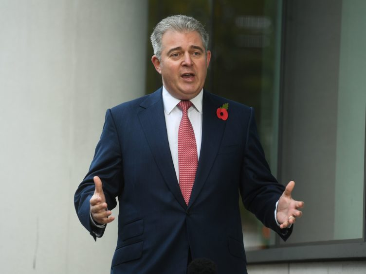 Northern Ireland Secretary Brandon Lewis said the UK and EU were working to address issues related to the protocol (Kirsty O'Connor/PA)
