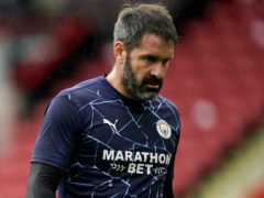 Manchester City reserve goalkeeper Scott Carson is among the latest positive Covid-19 tests at the club (Tim Keeton/PA)