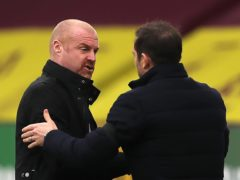 Sean Dyche (left) said Frank Lampard's sacking illustrated the growing short-termism within football (Molly Darlington/PA)