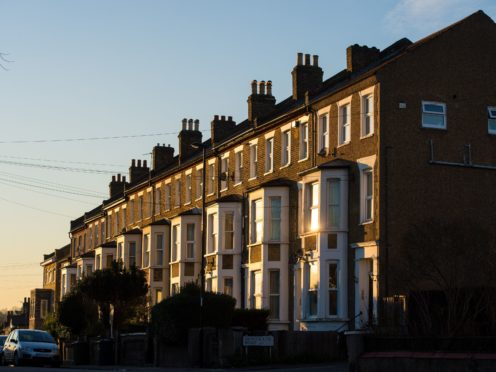 The average UK house price ended 2020 at £253,374, according to Halifax (Dominic Lipinski/PA)