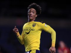 Sean Clare has joined Burton on loan from Oxford (Adam Davy/PA)