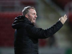 Swindon manager John Sheridan hailed his side's performance at Ipswich (Nick Potts/PA)
