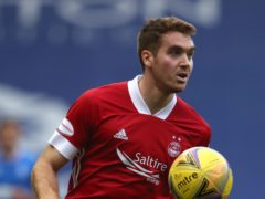 Tommie Hoban opened the scoring for Aberdeen (Andrew Milligan/PA)