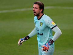 Norwich goalkeeper Tim Krul is set to return after missing two games through coronavirus (Richard Sellers/PA)