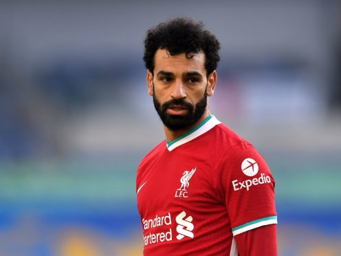 Mohamed Salah has told Liverpool his future is in their hands (Neil Hall/PA)