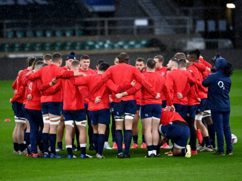 England will be limited to 28-man squads for the Six Nations (Andy Rain/PA).