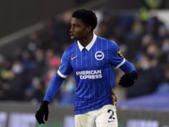 Tariq Lamptey has signed a new contract at Brighton (Gareth Fuller/PA)