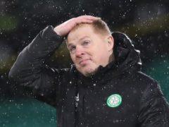 Celtic boss Neil Lennon's title hopes seem all but over (Jane Barlow/PA)