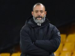 Nuno Espirito Santo remains cautious about the situation in football. (Rui Vieira/PA)