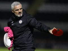 St Mirren manager Jim Goodwin has injury problems to contend with (Andrew Milligan/PA)