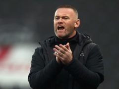 Derby interim boss Wayne Rooney and the entire first-team squad were absent for the FA Cup loss to Chorley (Tim Goode/PA).