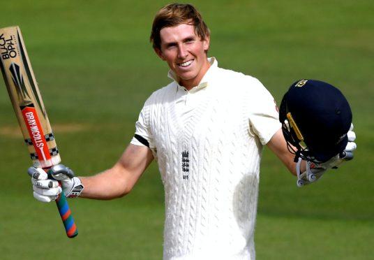 Zak Crawley wants to enjoy plenty more celebrations in Test cricket (Mike Hewitt/PA)