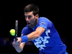 Novak Djokovic is the world number one (John Walton/PA).