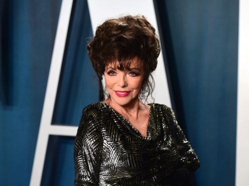 Dame Joan Collins's diaries have been described as 'unapologetic' (Ian West/PA)