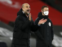 Pep Guardiola has hailed his improved defence (Paul Childs/PA)