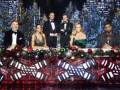 Britain's Got Talent stars David Walliams, Alesha Dixon, Ant and Dec, Amanda Holden and Ashley Banjo (Matt Frost/Thames TV)