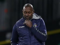 Alex Dyer's side had to settle for a point (Jane Barlow/PA)