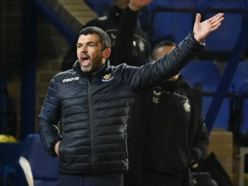 St Johnstone manager Callum Davidson replaces one Millwall player with another (Rob Casey/PA)