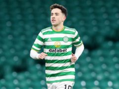 Mikey Johnston is back in action for Celtic after a year of injury frustration (Jeff Holmes/PA)
