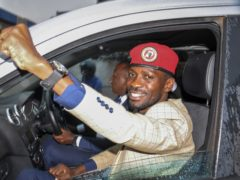 Ugandan presidential hopeful and political activist Bobi Wine (Ronald Kabuubi/AP)