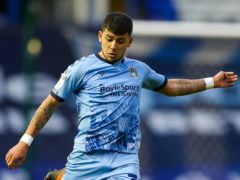 Coventry's Gustavo Hamer is being tracked by Rangers. (Barrington Coombs/PA)
